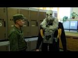Crash Zone На себе проверил армейский дыхательный аппарат. Military rebreather test.