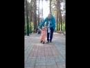 в зоопарке с прабабушкой Любой