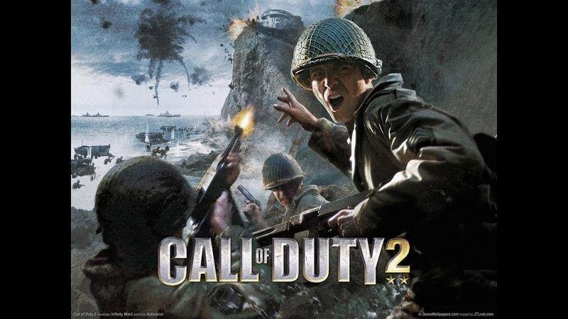 Прохождение - Call of Duty 2 - Часть 17 ( Военнопленные )