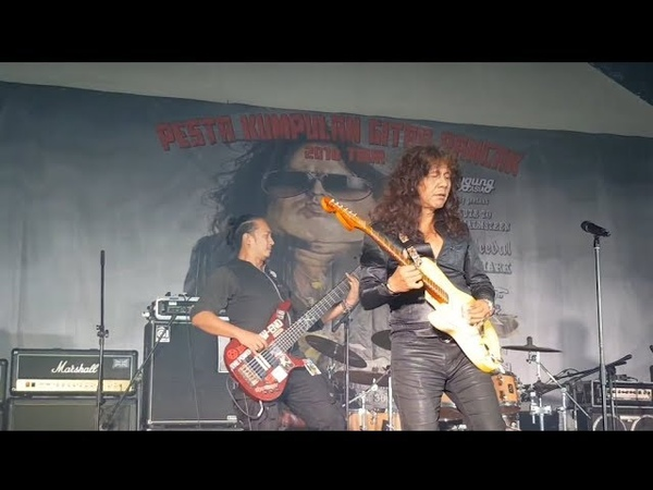 Pesta gitar pantas man kidal solo memang power,, Yngwie malmsteen tribute