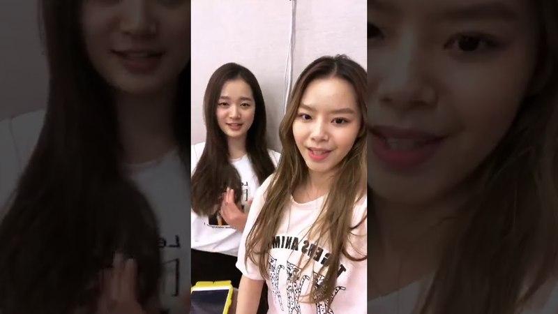 Lime Soda Hyerim (김혜림) Instagram Live [180601]
