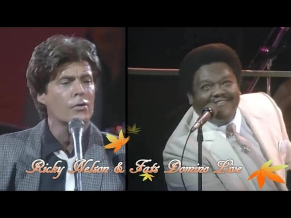 Ricky Nelson Fats Domino In Concert