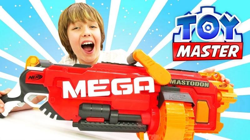 Toy Master. Transformers. Adrian MEGA bluster ile Otobotlara yardım ediyor