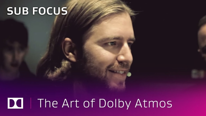 Sub Focus A New Dimension In Music | The Art of Dolby Atmos Music Producers | Dolby