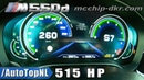 515HP BMW M550d G30 McChip 0 260km h ACCELERATION TOP SPEED by AutoTopNL