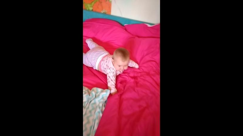 Мама, первые слова, доче 6,5 месяцев