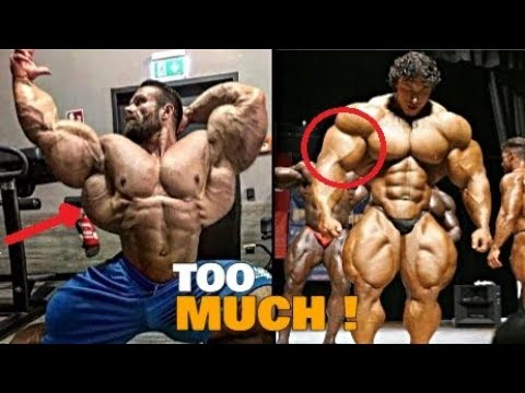 Top 7 Bodybuilder With An Extreme Muscle Mass !
