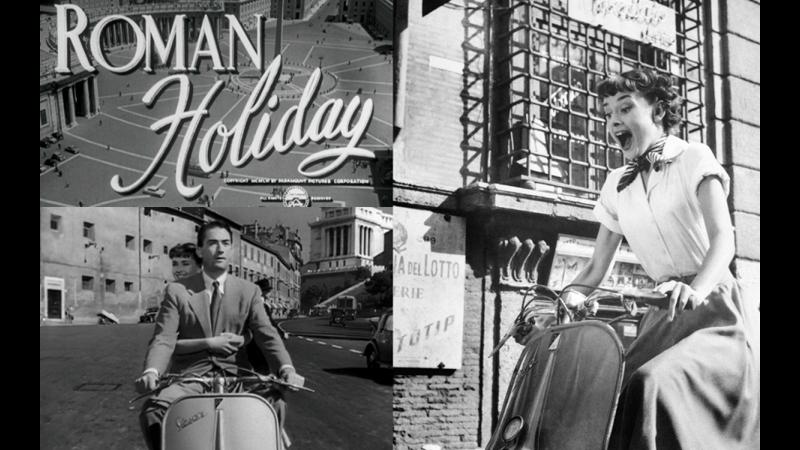 Римские каникулы на английском Roman Holiday 1953 HD Одри Хепберн Audrey Hepburn