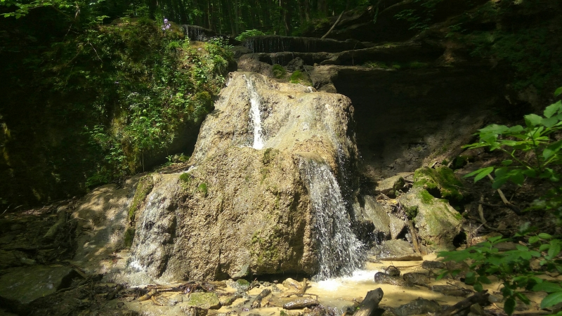 Травертиновый водопад. Татарское городище