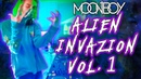 MOONBOY'S ALIEN INVAZION MIX Vol. 1 (FEAT. TISOKI, ALGO, UNRELEASED MORE) RIDDIM/DUBSTEP
