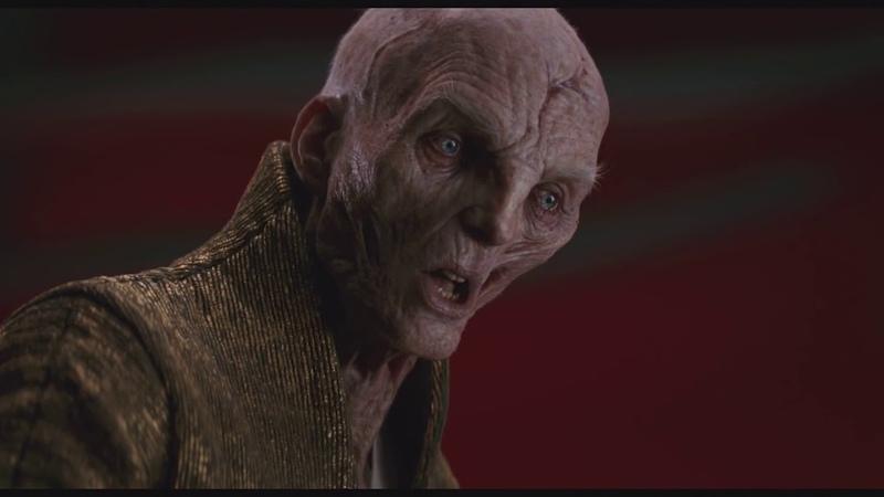 Star Wars: The Last Jedi (2017) - Supreme Leader Snoke Remands Kylo Ren