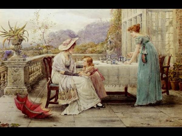 George Goodwin Kilburne 1839 1924 English painter ✽ Ernesto Cortazar Waltz of Love