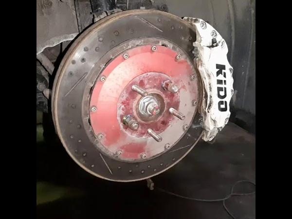Mazda 6 тюнинг KIDO Racing Тормозные суппорта и перфорированные диски