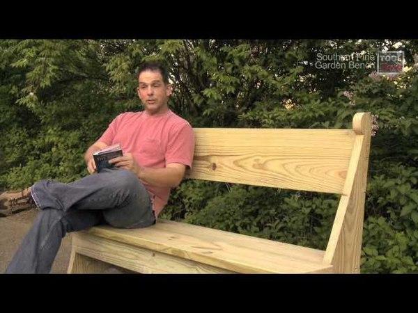 Garden Bench Shop Project - ToolSkool