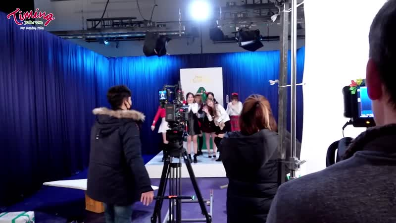 Backstage   181210   B1A4, OH MY GIRL, ONF - Timing (타이밍)