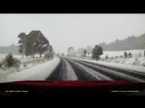 Snow Drive Video - Shooters Hill Rd - 17th June 2018