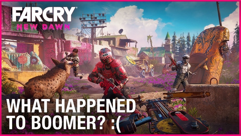 Far Cry New Dawn Post-Apocalyptic Gameplay and Character Details | Ubisoft [NA]