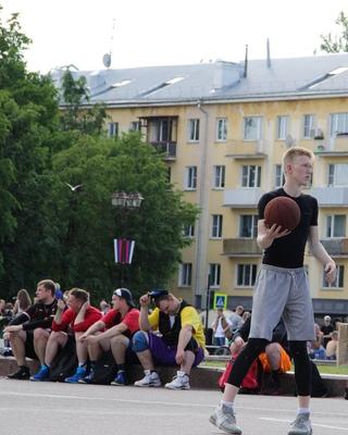 баскетбол 3х3 11.06.18