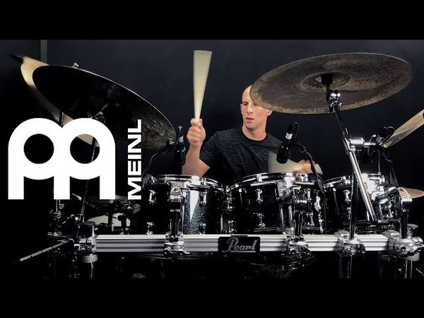 Louie Palmer - New Meinl Cymbals