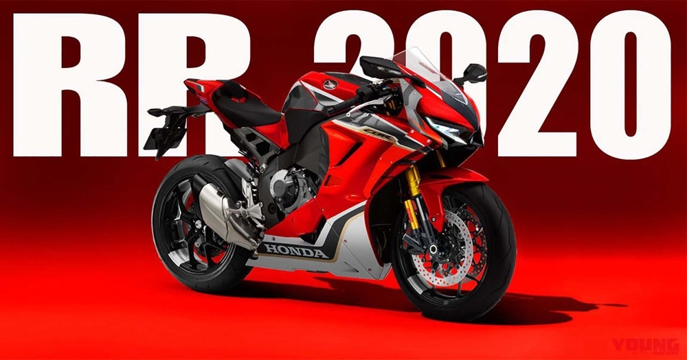 Мото слухи: новый супербайк Honda CBR1000RR представят в 2020 году