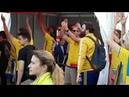 Шведские футбольные фанаты зажигают в Нижнем Новгороде