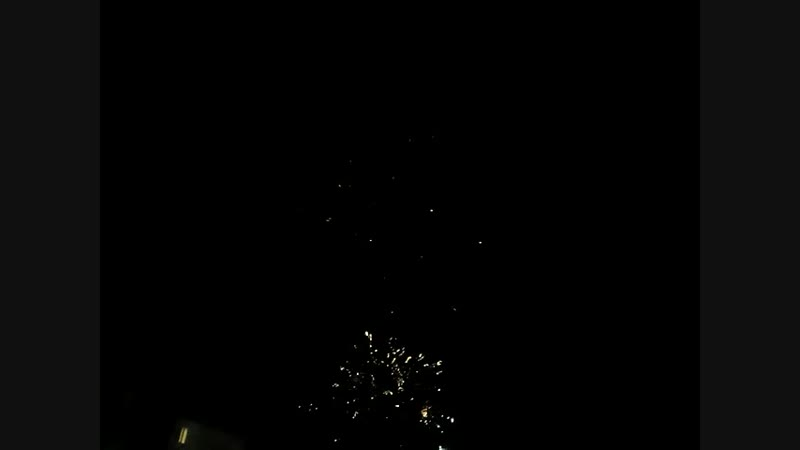 Новогодний фейерверк в Рузаевка
