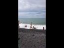 адлер море пляж