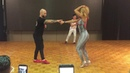 Танцуют Жорж Атака и Таня Ла Алемана Мастер класс Кла а с с с с