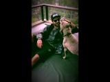 Видео с ИГ: Зак с собакой по кличке Мака