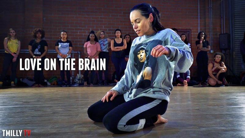 Jojo Gomez dances Love On The Brain Galen Hooks Choreography - TMillyTV