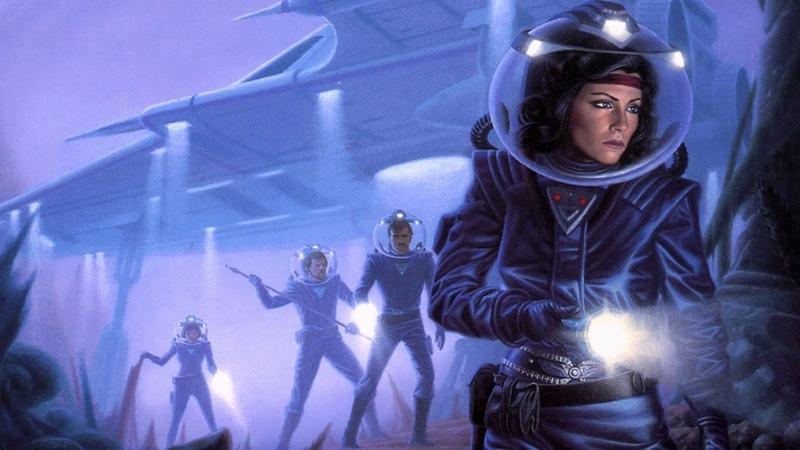 Война и мир инопланетных цивилизаций. Красивые фантастические миры