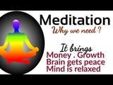 Why to meditate Gurudev Sri Sri Ravi Shankar Benefits Of Meditation Art of livingBmind Tsk
