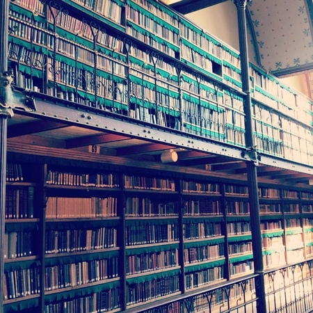 "ADAMLAMBERT on Instagram Library at Ryjks Museum"""