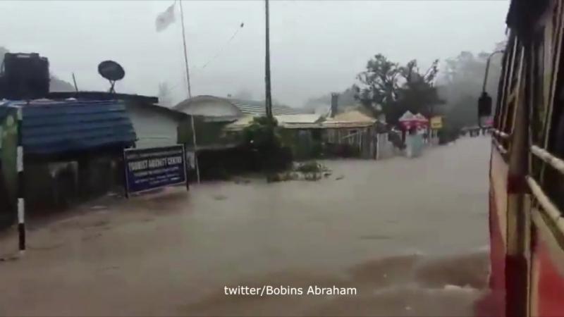 Наводнения в Керале ( Индия)