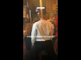 August 11: Fan taken video of Justin with his siblings and Hailey Baldwin spotted at HG Moo's Ice Cream Shop in Shakespeare, Ont