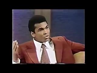 Мохаммед Али снова удивил своим ответом в интервью