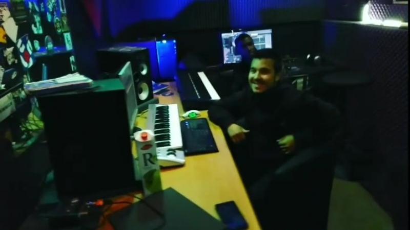 веселая атмосфера) пишем трек Diao на студии звукозаписи в Тюмени ( TMN REC )