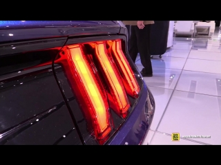 2018 Ford Mustang Coupe Premium - Exterior and Interior Walkaround - 2018 Detroit Auto Show
