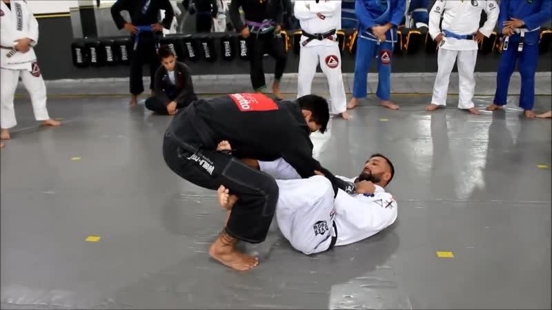 X guard pull sweep armbar kneebar