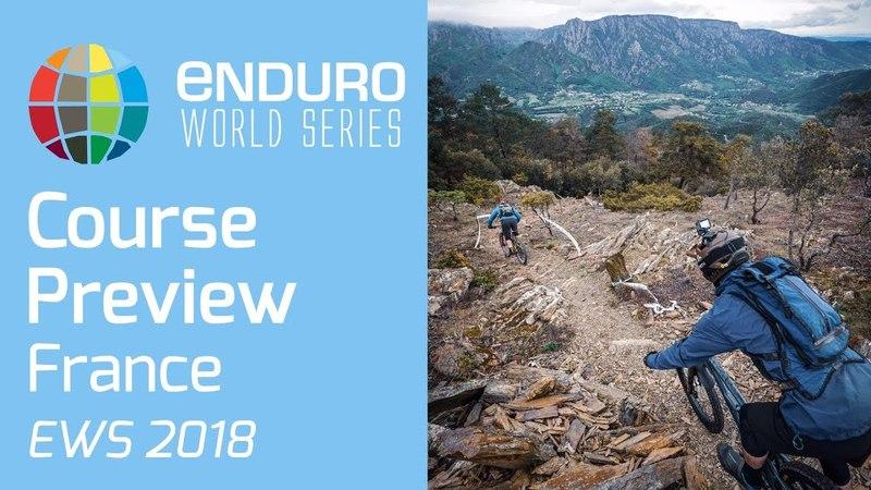 Course Preview Round 3 | EWS Montagnes du Caroux, France 2018