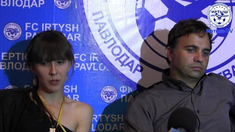 Послематчевая пресс-конференция. Никола Митов / Nikola Mitov FC Levski