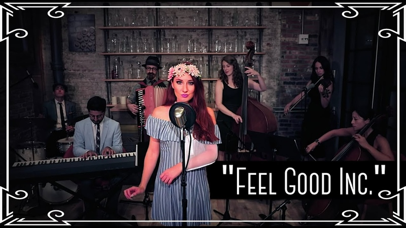 Feel Good Inc. (Gorillaz) Waltz Cover by Robyn Adele Anderson