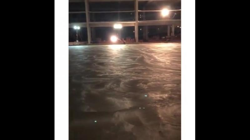 Первый этап монтажа технологической плиты ледового поля @ reutov_arena  Реутов Реутоварена Подмосковье Спорт Хоккей