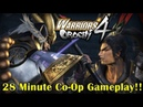 Warriors Orochi 4『無双OROCHI3』New 28 Minute Co-Op Gameplay