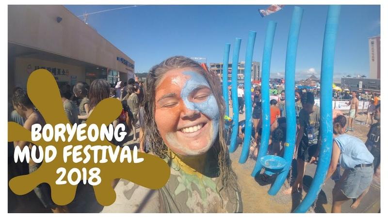Korea's Annual Mud Festival 2018
