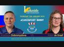 2019 BDO World Darts Championship Quarter Final Dobromyslova vs de Graaf