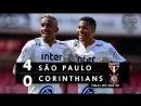 São Paulo 4 x 0 Corinthians - Melhores Momentos (HD 60fps) FINAL da Copa do Bras
