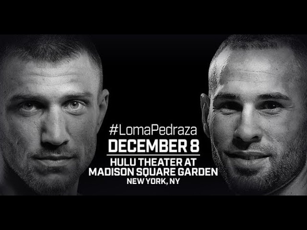 Vasyl Lomachenko vs Jose Pedraza fight promo