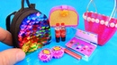 11 DIY Barbie hacks and crafts ~ Eyeshadow palette, Sequin Backpack, and more!
