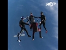 Red Bull - Skydiving Formation - POV
